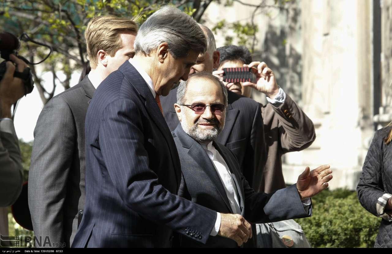 جان کری: ایران و 1+5 به یک توافق تاریخی نزدیک شده اند/ ورود اولین وزیر خارجه آمریکا به اقامتگاه نماینده ایران (+عکس)
