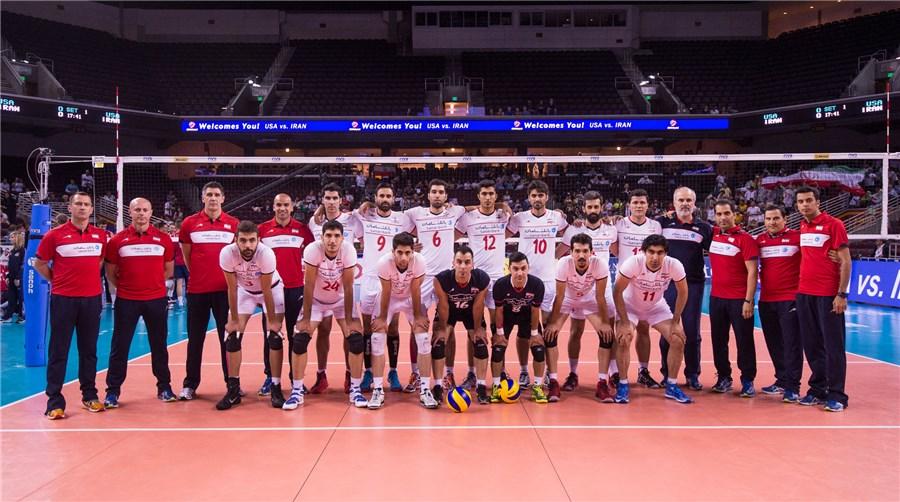 آمریکا 3 - ایران 1 / شکست والیبال ایران در اولین مسابقه لیگ جهانی!