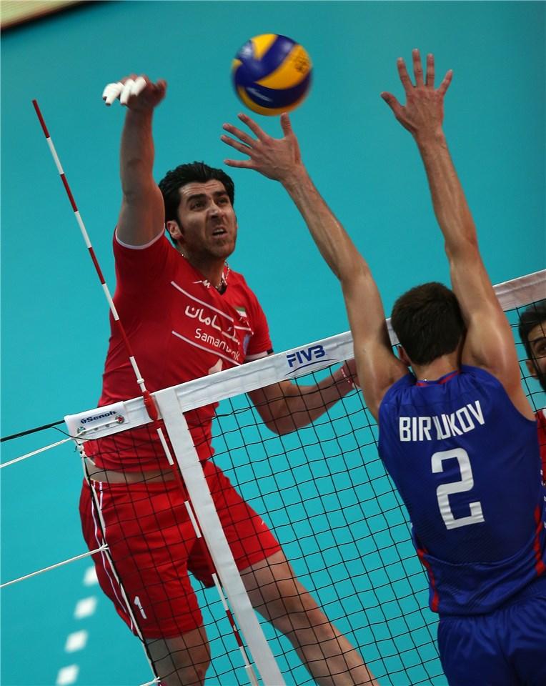 پیروزی شگفت انگیز مردان والیبال ایران مقابل روسیه ( تحلیل/عکس)