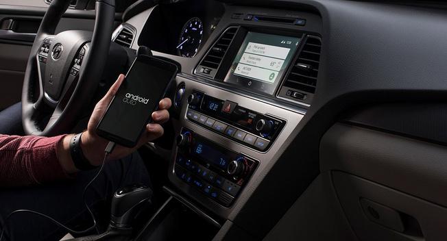 هیوندای سوناتا ۲۰۱۵ اولین میزبان Android Auto