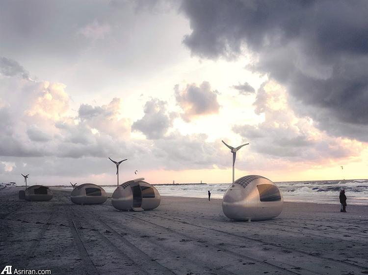 ساخت خانه های کپسولی از سوی یک شرکت اروپایی (+عکس)