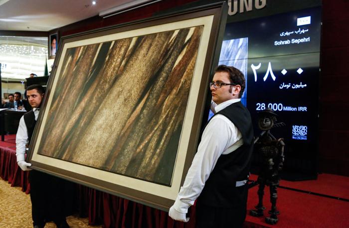 نقاشی سهراب سپهری رکورد تاریخی زد