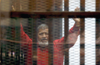 مصر: محمد مرسی در لباس اعدام (عکس)