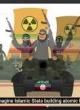 فیلم کارتونی نتانیاهو علیه توافق هسته ای ایران