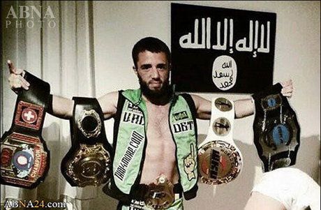 كشتهشدن ورزشکار معروف داعشی