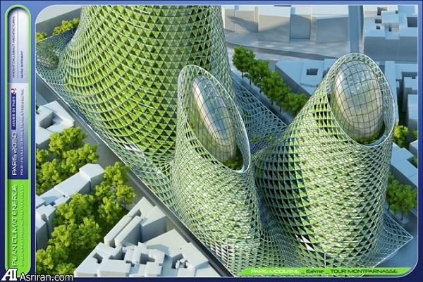 حضور آسمانخراشهای سبز در طرح آیندهنگر پاریس