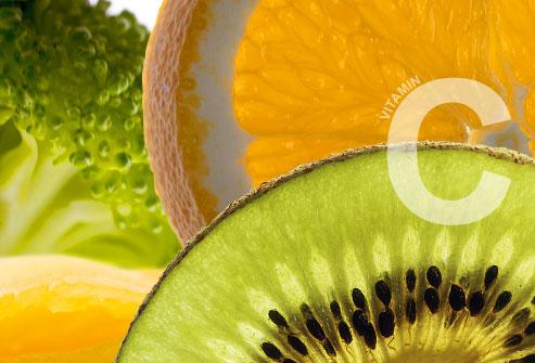کاهش بیماری های قلبی با ویتامین C