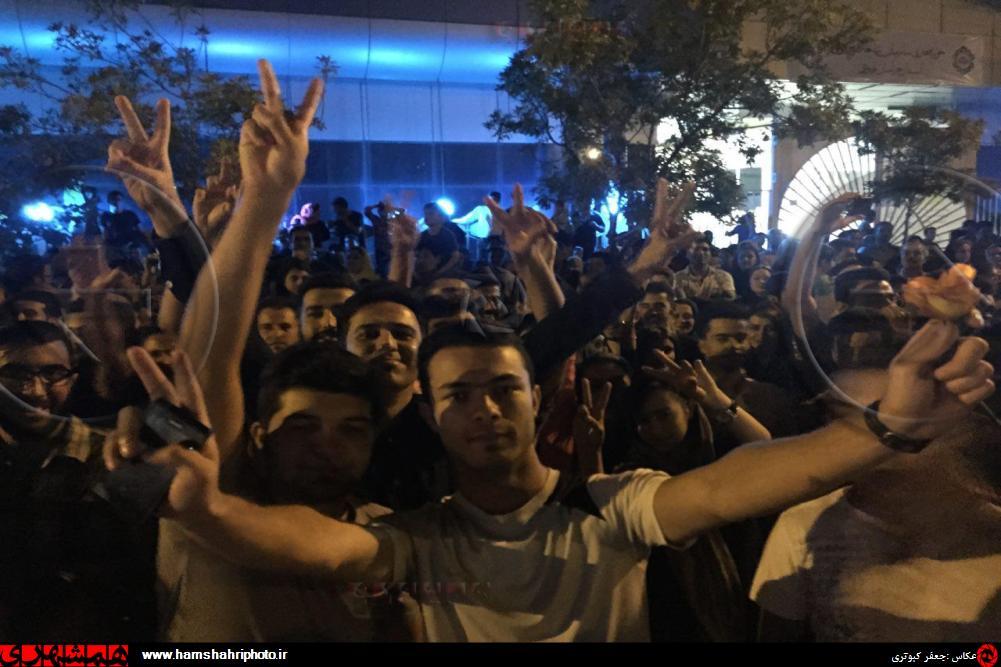 جشن هسته ای در خیابان های تهران و دیگر شهرهای ایران