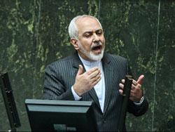 جلسه علنی مجلس با حضور ظریف و صالحی