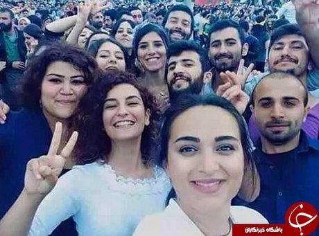 سلفی دختران و پسران قبل از انفجار ترکیه (+عکس)