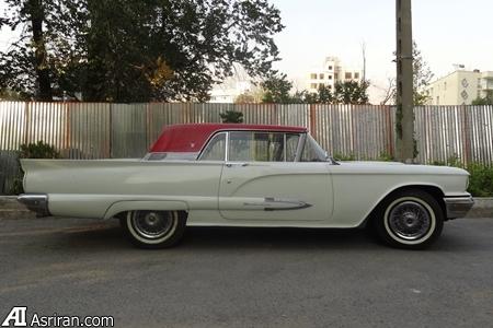 فروش خودروی 56 سال پیش سفیر ایتالیا در تهران به مبلغ 350 میلیون(+عکس)