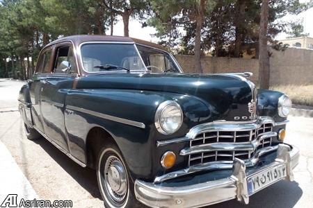 فروش خودروی 66 ساله سریال های تلویزیون به مبلغ 185 میلیون !!