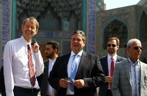 دفاع وزیر اقتصاد آلمان از سفر به ایران: پایان اختلاف هسته ای یعنی پایان تحریم ها