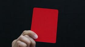نتیجه تصویری برای کارت قرمز