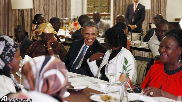 اوباما در کنیا با خواهرش دیدار کرد (عکس)