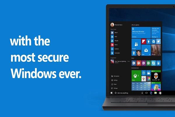 عرضه ویندوز 10 با امکانات امنیتی ویژه