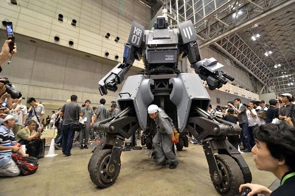 بزرگترین ربات جنگجوی جهان