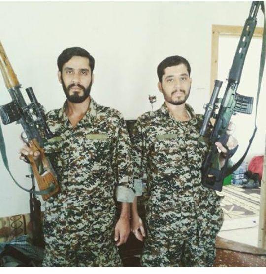 شهادت دو برادر ایرانی در سوریه