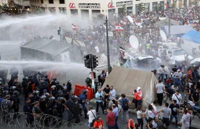 درگیری در لبنان بر سر