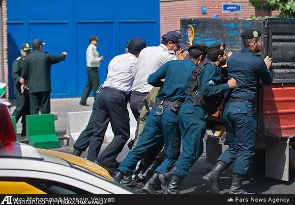 نیسانی که جلوی وزیر خارجه انگلیس خراب شد (عکس)