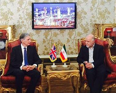 دیدار وزیر خارجه انگلیس با زنگنه