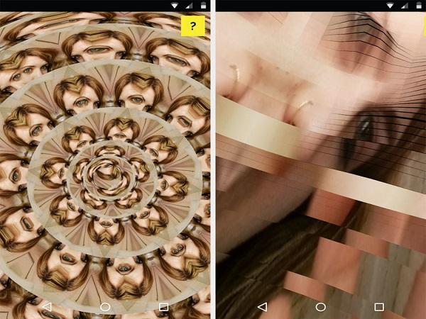 ثبت سلفیهای هنری با اپلیکیشن Selfie x Selfie