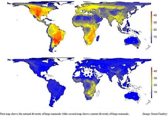 نقشهای از جهان بدون انسان