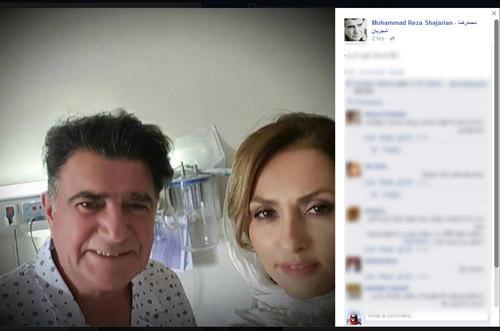 شجریان در بیمارستان/ حال استاد خوب است (+عکس)