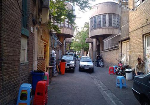 متفاوت ترین کوچه تهران (+عکس)