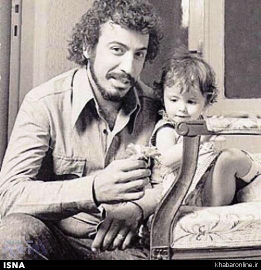 عکسی دیده نشده از دوران کودکی لیلا حاتمی
