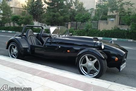 فروش خودروی انگلیسی عجیب در تهران به مبلغ 240میلیون تومان(+عکس)