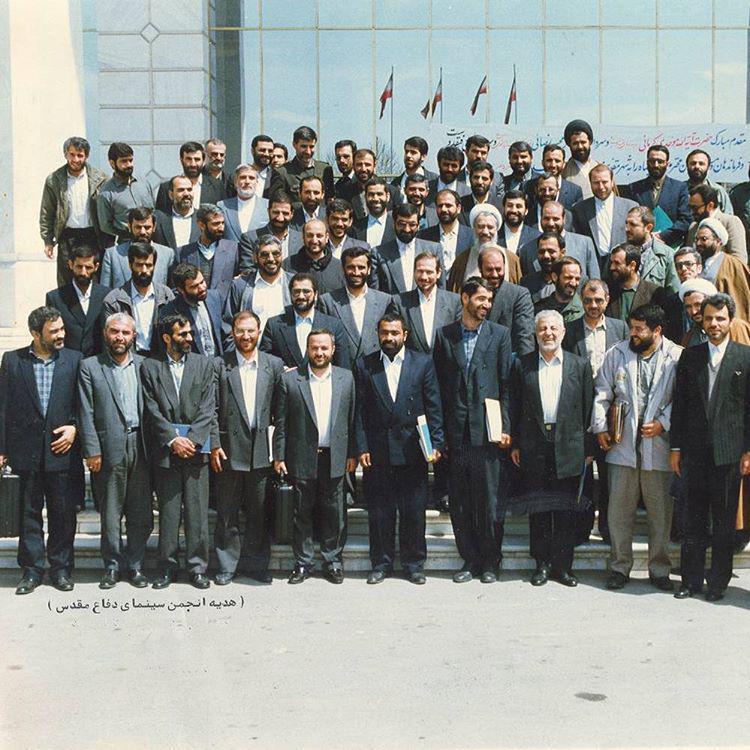 عکس تاریخی فرماندهان سپاه در 20سال قبل