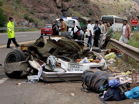 500 هزار مجروح حاصل تصادفات رانندگی سالانه در ایران