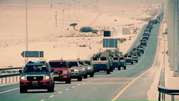ورود نیروی زمینی قطر به یمن