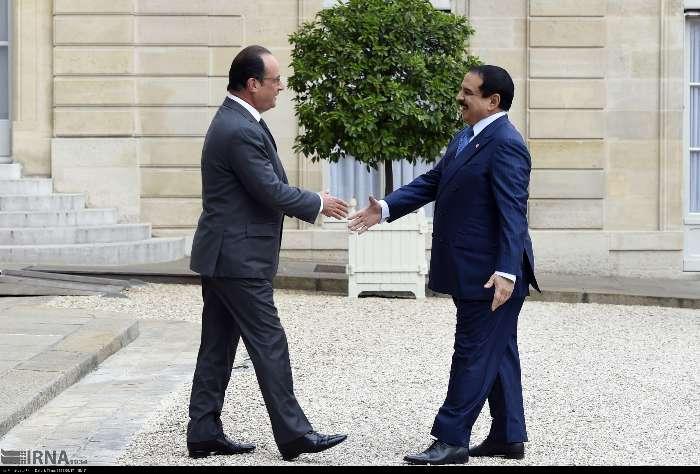 سفر شاه بحرین به فرانسه