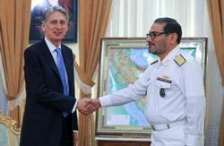 دیدار وزیر خارجه انگلیس با شمخانی