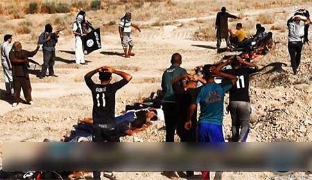 داعش ۲۱ نوجوان را در عراق اعدام کرد