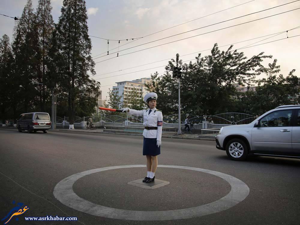 پلیس راهنمایی رانندگی کره شمالی (عکس)