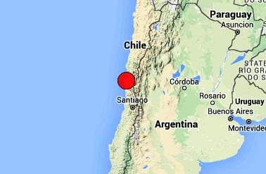 زلزله 8.3 ریشتری سواحل شیلی را لرزاند/ هشدار سونامی