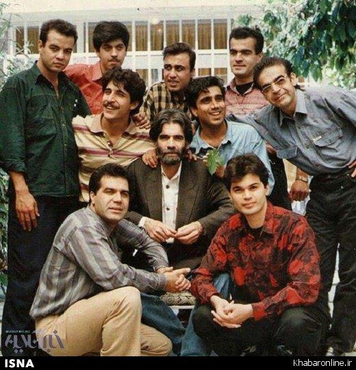 بازیگران مشهور طنز، 21 سال پیش (عکس)