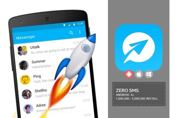 مدیریت پیامک ها با اپلیکیشن ZERO SMS