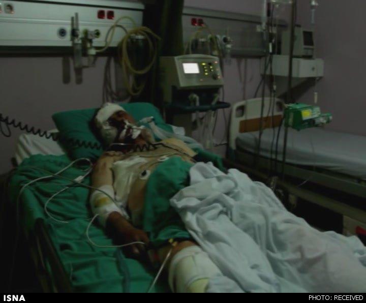 آخرین وضعیت خبرنگار زخمی ایران در سوریه (+عکس)