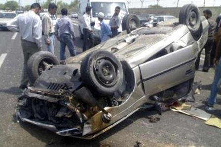 3 کشته در حادثه رانندگی در مراسم عروسی