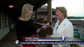 قتل فیلمبردار و گزارشگر آمریکایی در پخش زنده تلویزیونی/ ضارت در بیمارستان جان باخت (+فیلم)
