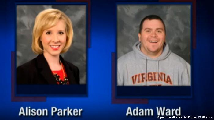 قتل فیلمبردار و خبرنگار آمریکایی در پخش زنده تلویزیونی (+عکس و فیلم)