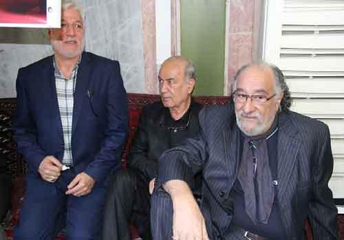 حضور داریوش ارجمند در مراسم بزرگداشت بیت الله عباسپور (+عکس)