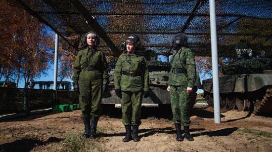 خشن ترین سربازان زن دنیا (+عکس)