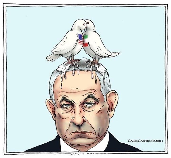 عذرخواهی دولت سوئیس از اسرائیل بخاطر یک کاریکاتور (+عکس)