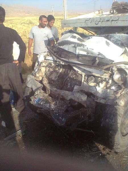 4 کشته در حادثه رانندگی در کرمانشاه