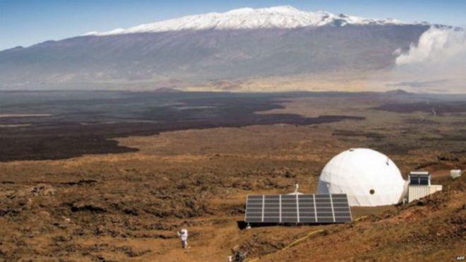 شروع تمرین یک ساله برای شبیه سازی زندگی در مریخ